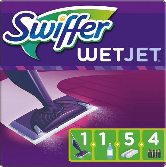 Swiffer WetJet Starterkit Dweilsysteem