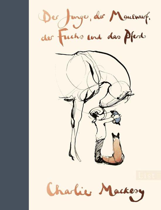 Boek cover Der Junge, der Maulwurf, der Fuchs und das Pferd van Charlie Mackesy (Onbekend)
