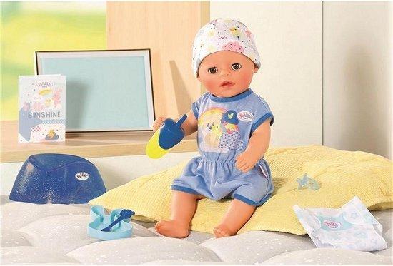 BABY born Soft Touch Little – Klein Broertje – Babypop 36cm