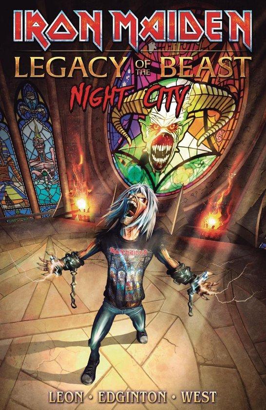 Boek cover Iron Maiden Legacy Of The Beast Volume 2 van Llexi Leon (Paperback)