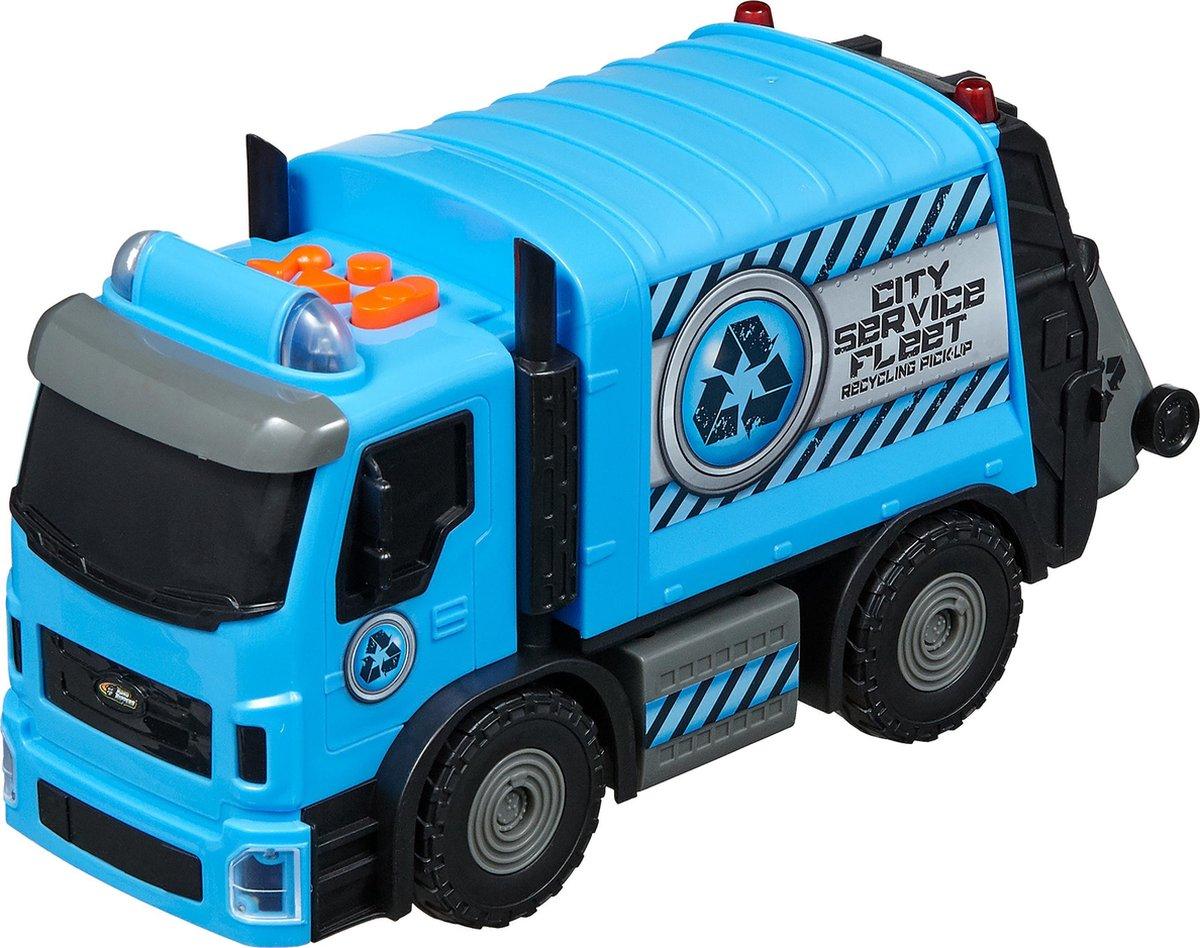 Nikko - Road Rippers Auto City Service Flee: recyclewagen