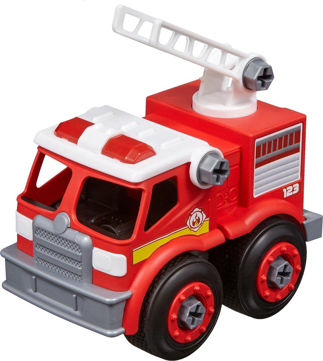 Nikko - Machine Maker Auto City Service: brandweerwagen 9-delig