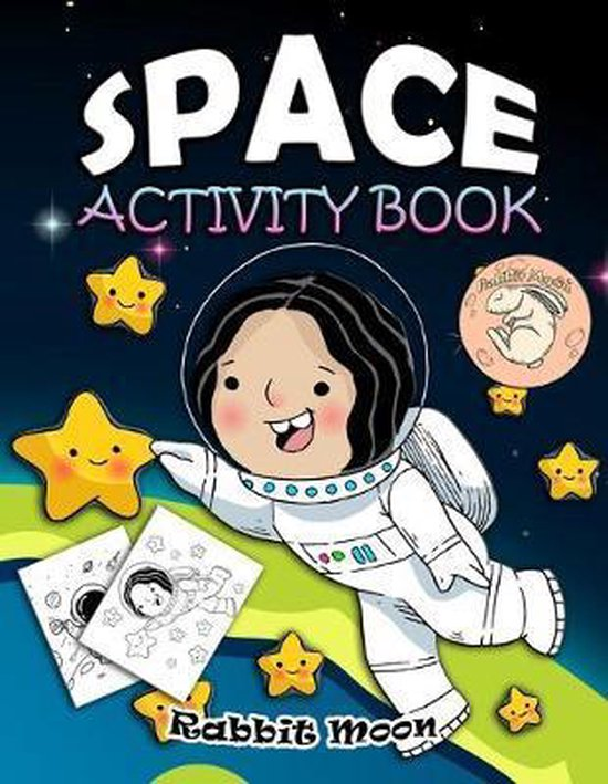 Space Activity Book: for Kids Ages 4-8