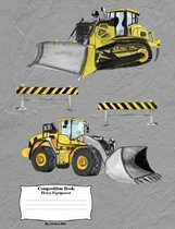 Heavy Equipment: Composition Book
