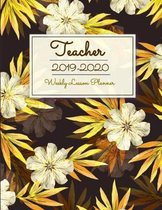 Teacher 2019-2020: Dated 8.5 x 11 Calendar With To-Do List Notebook