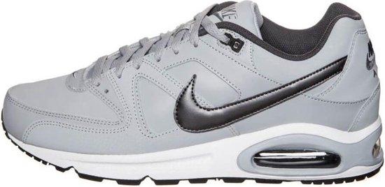 Nike Air Max Command Leather Heren Sneakers - Grijs/zwart - Maat 47,5