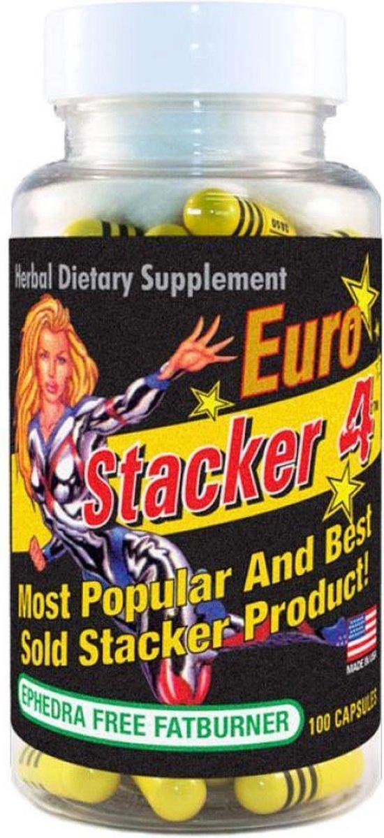 Stacker 4 - Fat Burner -Vetverbrander - 100 Capsules
