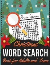 Christmas Word Search Book for Adults and Teens