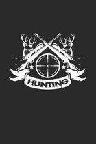 Hunting: 6x9 Hunting - dotgrid - dot grid paper - notebook - notes
