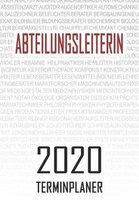 Abteilungsleiterin - 2020 Terminplaner