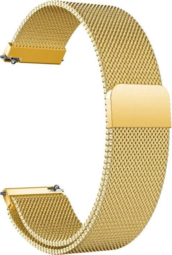 Garmin Venu Milanese band - goud - 42mm