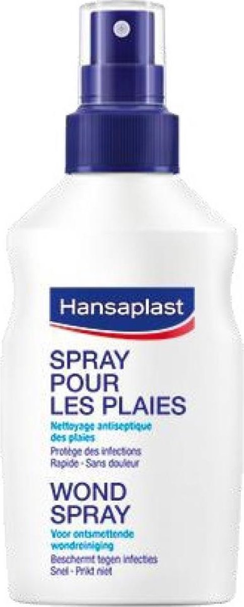 Hansaplast Wondspray Wondreiniging - 100 ml