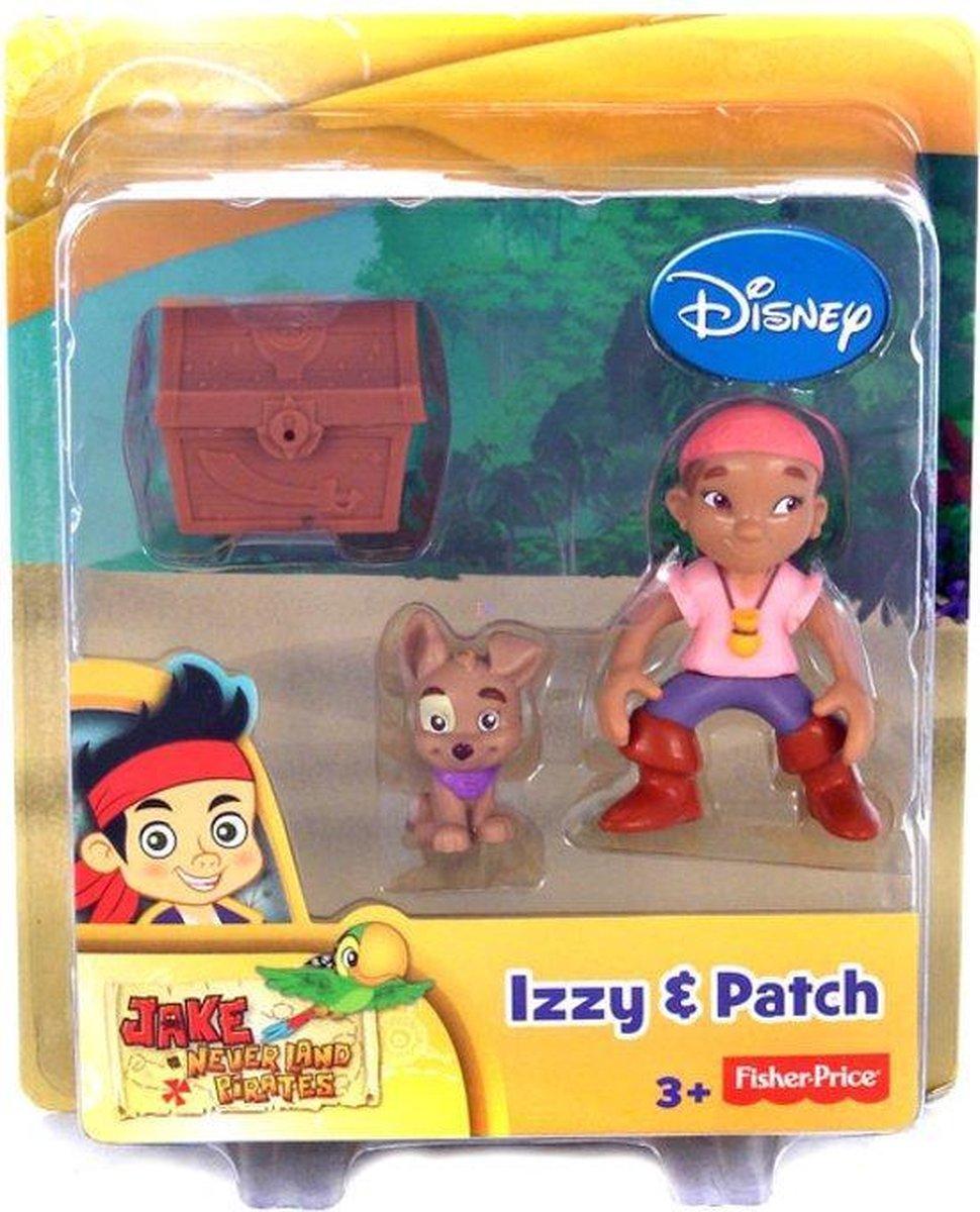 Izzy & Patch - Fisher Price - Jake Neverland Pirates