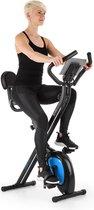 Klarfit Azura Air fiets-hometrainer - ergometer - polsmeter - Trainingscomputer - 8 standen -  instelbare weerstand - klapbaar