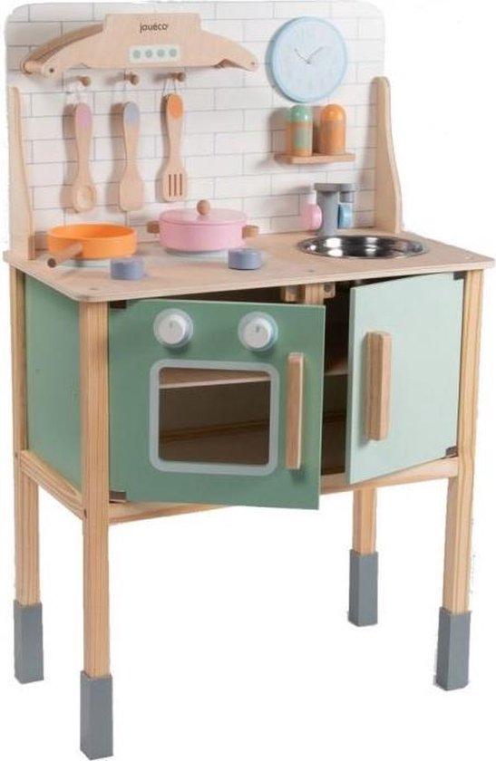 Jouéco® - Houten keuken met accessoires
