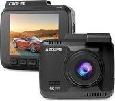 AZDome Dashcam voor auto GS63H 4K 1CH Wifi - GPS