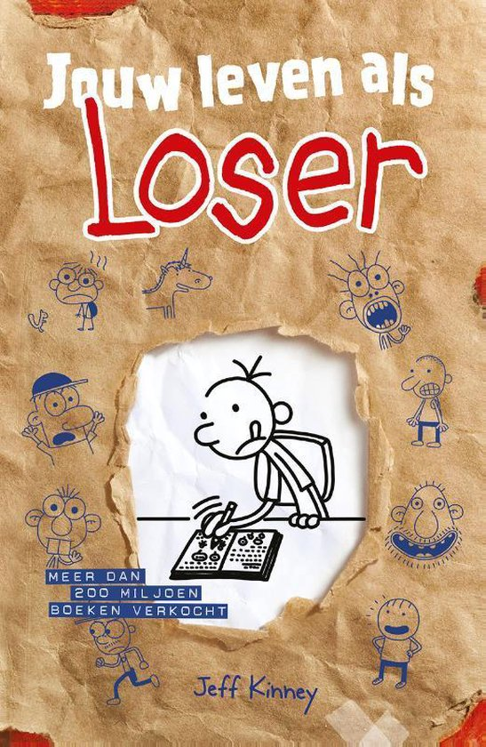 Boekomslag voor Het leven van een Loser - Jouw leven als Loser