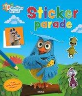 Deltas Stickerboek De Fabeltjeskrant Junior 24,5 Cm Papier Blauw