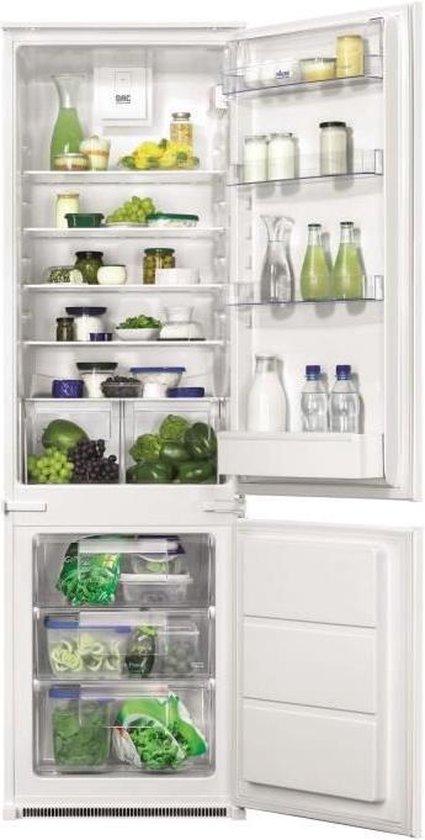 Koelkast: FAURE FBB28468SV - Inbouw koelkast met vriesvak, van het merk Faure