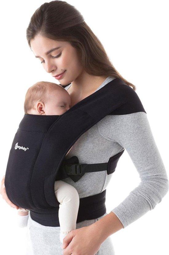 Ergobaby Embrace Draagzak Baby - Pure Black