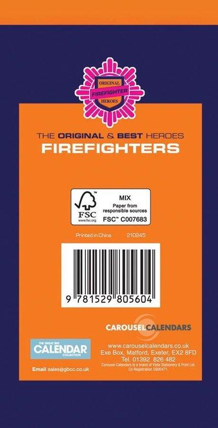 Fire  Fighters Pocket Agenda 2021