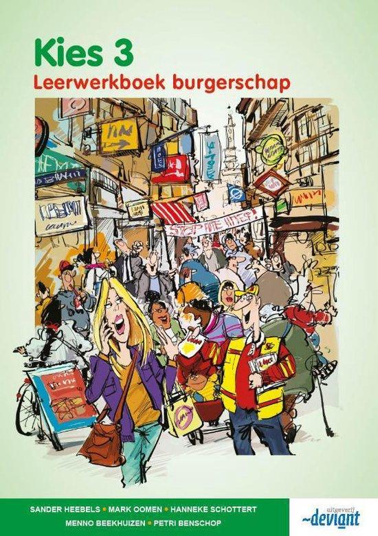 Kies 3 - Burgerschap - Leerwerkboek - Sander Heebels | Fthsonline.com