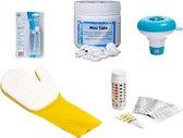 Zwembad Voordeel Starterspakket Small - Inclusief chloortabletten, chloordrijver, testcontrolestrips, handschoen en reparatiekit