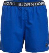 Bjorn Borg heren zwembroek loose shorts Scott - blauw -  Maat XL