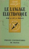 Le langage électronique