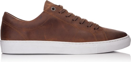 OMNIO VELO SNEAKER ECO Tan Waxy Leather - 42