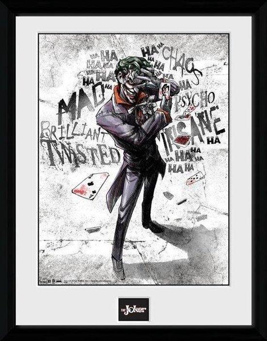 BATMAN COMICS - Collector Print 30X40 - Joker Type