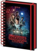 Stranger Things Seasone One A5 Notitieboek