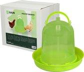 Pluimvee drinktoren Lime groen 1,5 liter