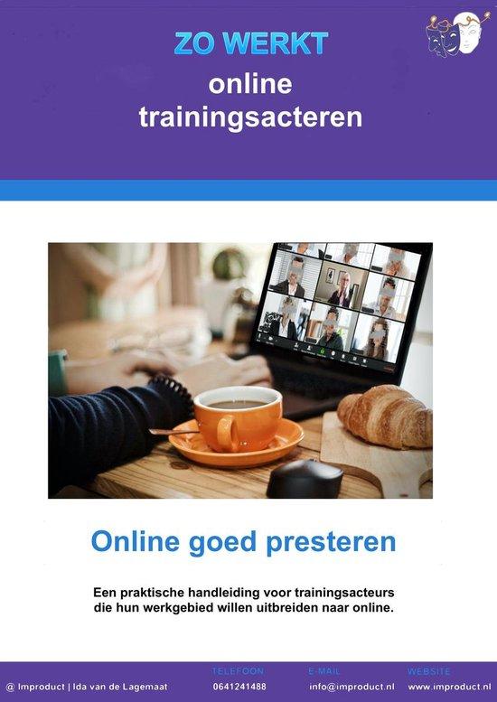 trainingsacteren 2 - ZO WERKT online trainingsacteren