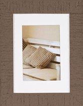 Fotolijst - Henzo - Driftwood - Fotomaat 15x20 - Bruin
