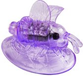 Vibrating butterfly met remote control paars / sex / erotiek toys