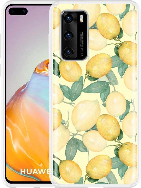 Huawei P40 Hoesje Lemons