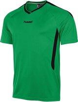 hummel York Game Shirt k.m. Sportshirt - Groen - Maat XL