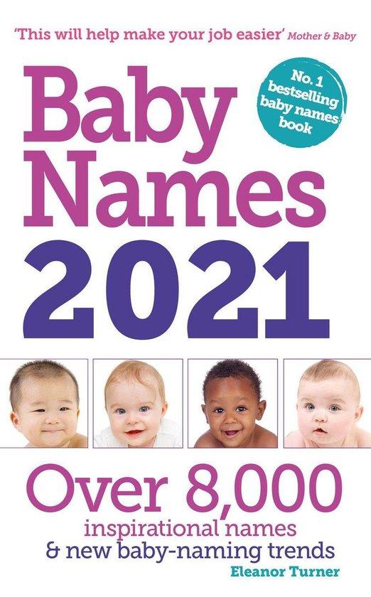 Boek cover Baby Names 2021 van Eleanor Turner (Onbekend)