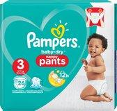 Pampers Baby Dry Pants Luierbroekjes - Maat 3 (6-11 kg) - 26 stuks