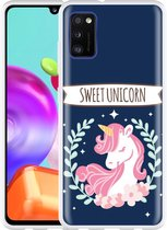Samsung Galaxy A41 Hoesje Sweet Unicorn