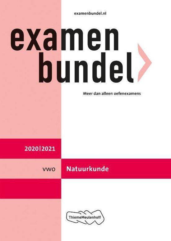 Boek cover Examenbundel vwo Natuurkunde 2020/2021 van  (Paperback)