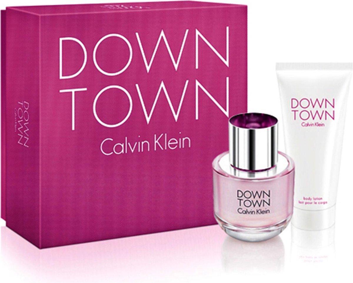 Calvin Klein Down Town for Women - 2 delig - Geschenkset - Calvin Klein