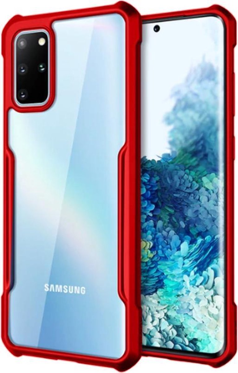 Afbeelding van product ShieldCase Samsung Galaxy A71 Bumper case - rood