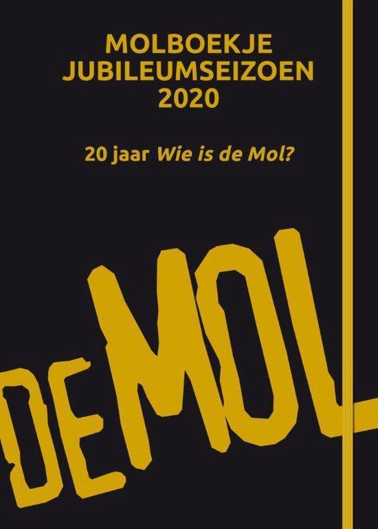 Afbeelding van Wie is de Mol? - Molboekje jubileumeditie 2020