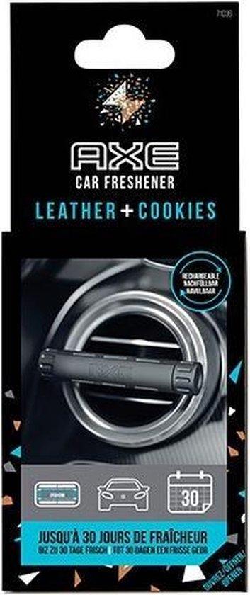 Axe Luchtverfrisser Leather & Cookies Alu Zwart/zilver 3-delig