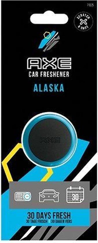 Axe Luchtverfrisser Mini Vent - Alaska 3 Cm Zwart/blauw