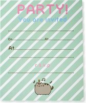 Thumbsup! Uitnodigingen Pusheen Party Meisjes Papier 16-delig