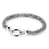 ZINZI zilveren schakel armband 21cm ZIA733-21