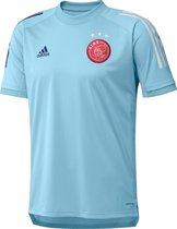 adidas Ajax Training Shirt 2020-2021 Mannen - IJsblauw - Maat M